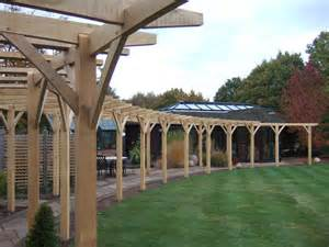 Curved Pergola Designs by Long Curved Pergola Hardscaping Pinterest