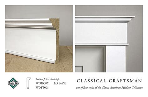 Craftsman Style Molding Arts And Crafts Trim Molding