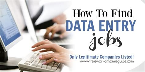 Online Accounting Work From Home - data entry work at home jobs