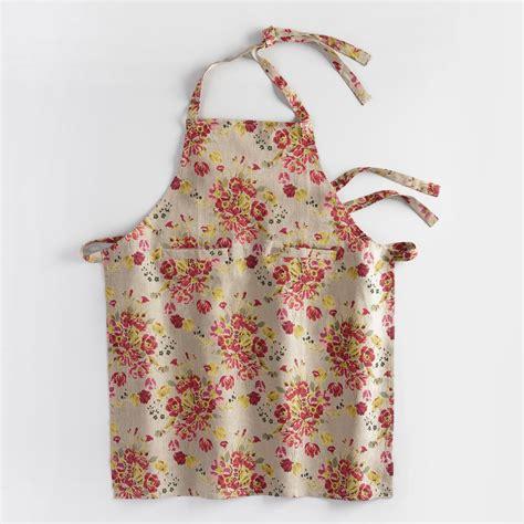 apron floral millie floral apron world market