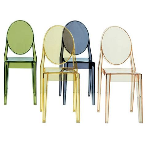 chaise ghost kartell transparent chaise