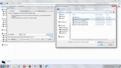 membuat usb bootable dengan file iso andri kristiawan membuat usb bootable dengan unetbootin