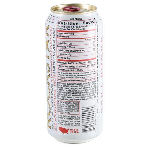 rockstar 0 carb energy drink sugar free rockstar nutrition facts nutrition ftempo