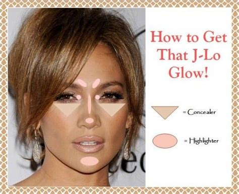 what color of lipstick did jennifer lopez have on on ellens show how to highlight your face get that j lo glow glowy