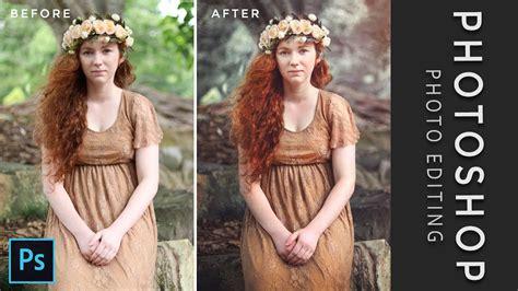 photoshop tutorial fine art  creative photo editing
