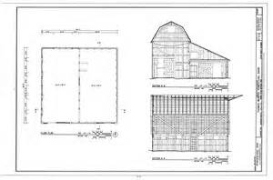 house barn floor plans file floor plan sections thomas murphy homestead barn approximately 125 feet