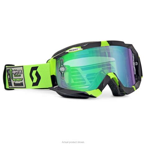 monster energy motocross goggles scott hustle monster energy pro circuit 25th le goggle