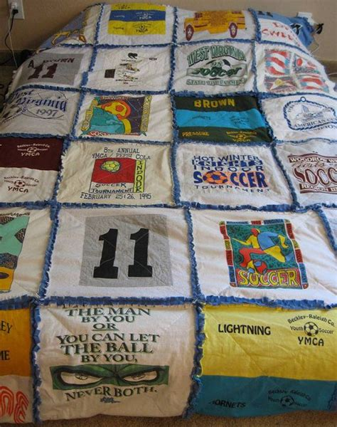 t shirt rag quilt pattern custom tshirt keepsake memory rag quilt fleece sewing