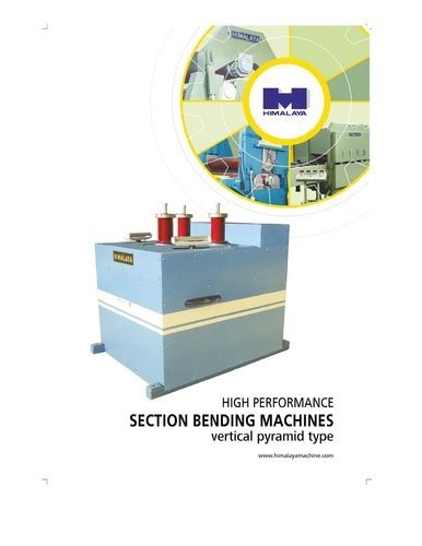 section benders himalaya machinery private limited vadodara