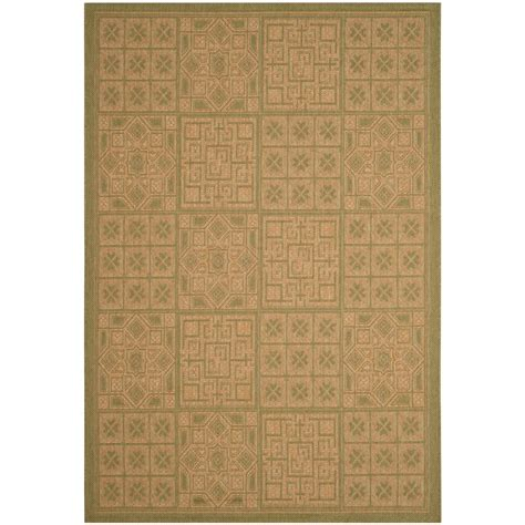 9 X 12 Indoor Outdoor Rugs by Safavieh Courtyard Green 9 Ft X 12 Ft Indoor