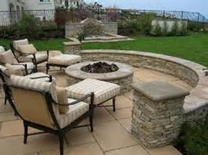 cool backyard fire pit insight inspiring backyards outdoor kitchen and firepit designs and photos