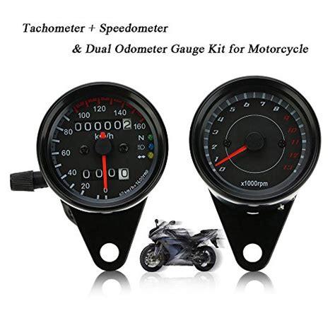 Motorrad Tuning Tacho by Kkmoon 12v Motorrad 13000rpm Tachometer Km H Tacho Dual