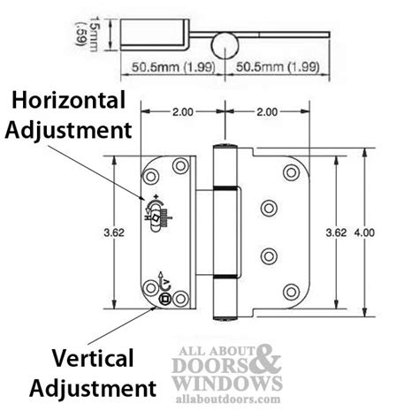 outswing door adjustment 3 5 8 x 4 adjustable hinge all in one v h nrp outswing