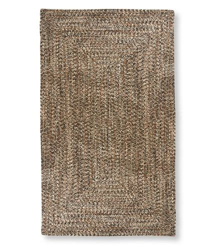 llbean braided rugs all weather braided rug concentric pattern l l bean
