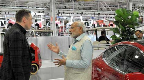 elon musk india why pm narendra modi visited tesla motors headquarters