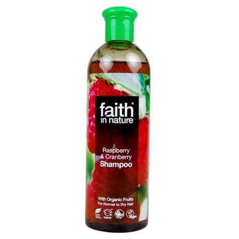 Cranberry Lotion Faith Sudah Bpom faith in nature raspberry cranberry shoo 400ml by