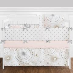 Stars Nursery Bedding Thenurseries Celestial Crib Bedding