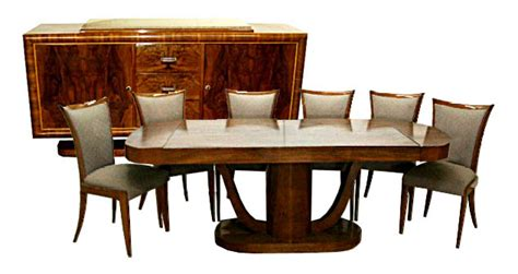 art deco dining room set art deco dining room