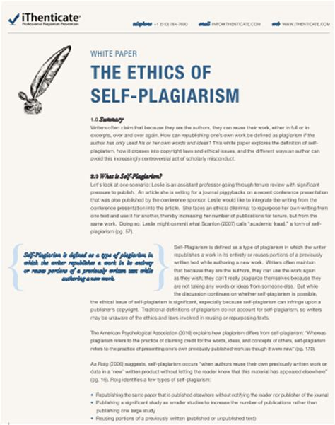 College Essay Plagiarism by What Is Self Plagiarism And How To Avoid It