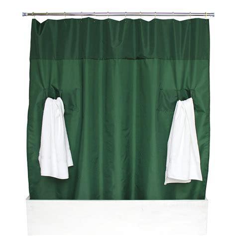 hunter green shower curtain hunter green
