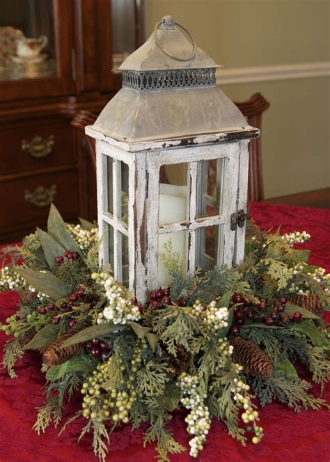 best 25 decorating lanterns for christmas ideas on