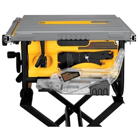 dewalt dwe7480 10 inch compact site table saw with
