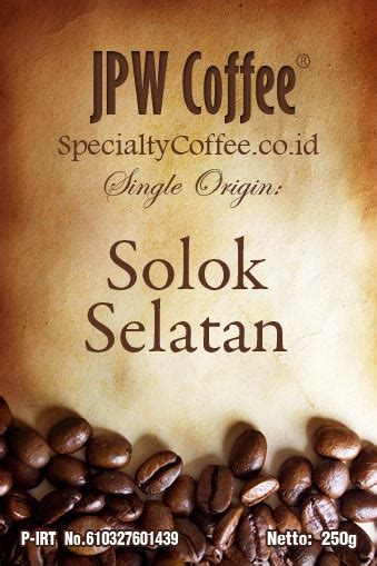 500gr Kopi Arabika Preanger Honey kopi solok selatan specialtycoffee co id