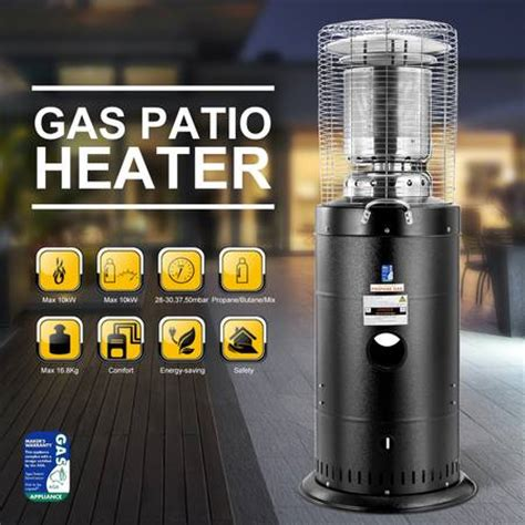 outdoor gas patio heaters sale powder coated steel outdoor gas patio heater with ods
