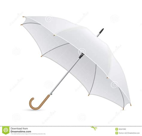 umbrella layout vector white umbrella vector illustration stock vector image