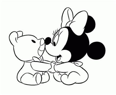 Baby Looney Tunes Coloring Page Bananas Pyjamas Pages Disney Baby Minnie Coloring Pages