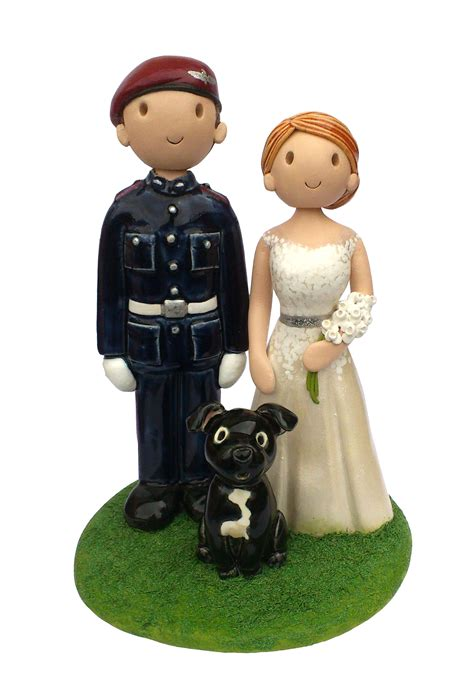 Handmade Wedding Cake Toppers - wedding cake toppers made personalised wedding cake