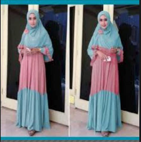 Baju Muslim Baju Gamis G 076 model trendi baju gamis busana muslim terbaru 2014