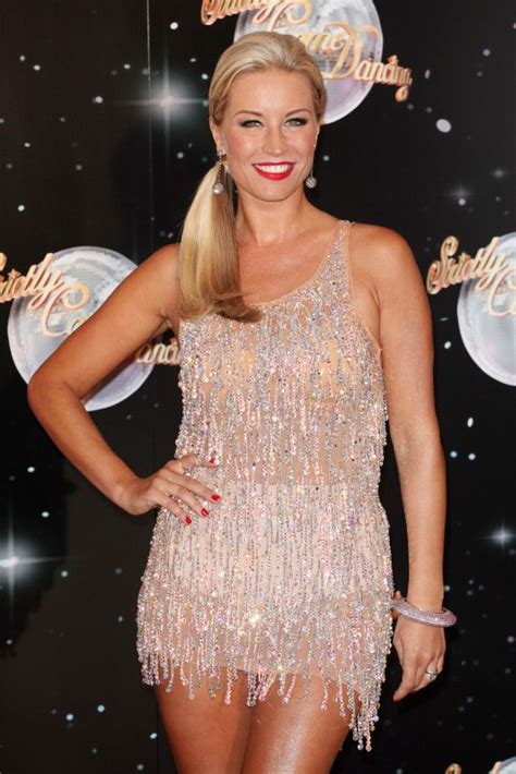 tattoo london euston denise van outen at strictly come dancing launch in london