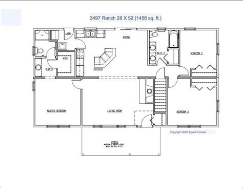 custom ranch floor plans custom ranch 2 fuller modular homes