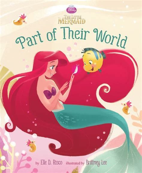 libro disneys the little mermaid part of their world disney publishing worldwide