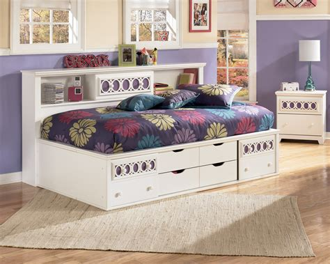 zayley full bookcase bed zayley twin bookcase storage bed from ashley b131 85 51