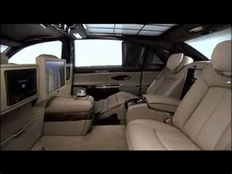 how does cars work 2011 maybach landaulet interior lighting maybach 62 s 2011 interior and on the road youtube