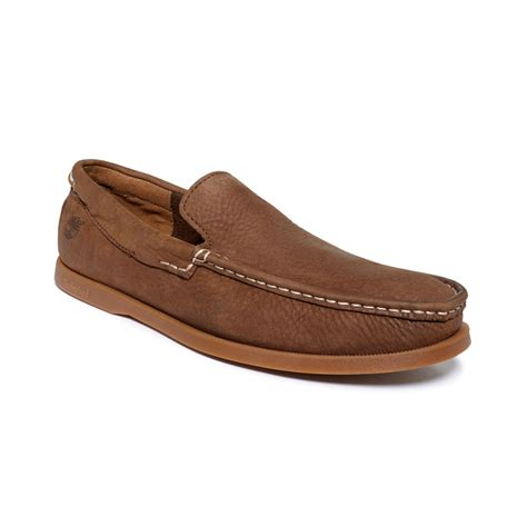 timberland loafers timberland earthkeepers heritage venetian loafers in brown
