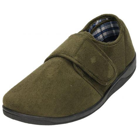 slippers with memory foam piri piri velcro slippers memory foam insole faux suede