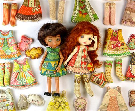 design doll clothes kit amelia thimble clothing kit you choose doll by dollproject