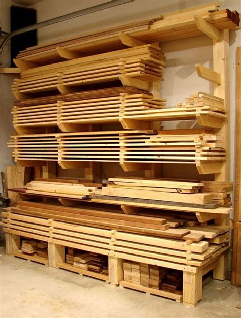 Lumber Storage Garage by 17 Best Ideas About Lumber Storage On Lumber