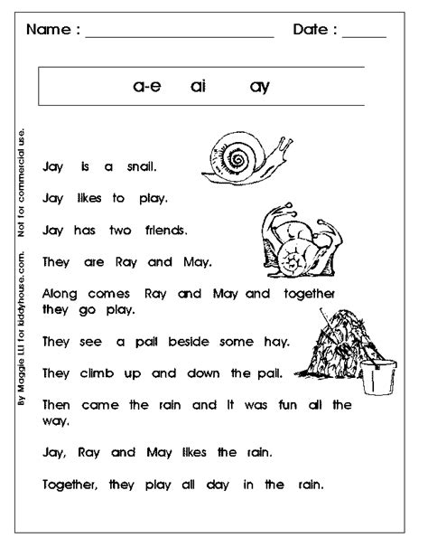 printable phonics worksheets free easy reading worksheets for kindergarten reading