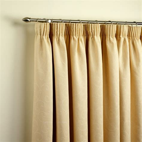how to fit pencil pleat curtains pencil pleat curtains lloyds blinds