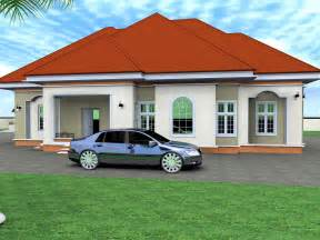 Two Tone Bedroom A Modern 3 Bedroom Bungalow In Kenya Home Combo