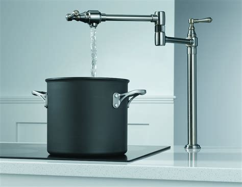 How To Install A Pot Filler Faucet by You Gotten Your Stovetop Pot Filler Faucet Yet Food Republic