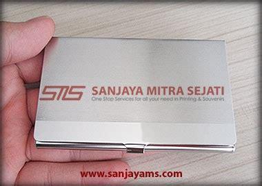 Tas Kotak B03 jual tempat kartu nama stainless harga murah gratis ongkir area jakarta sanjaya mitra sejati