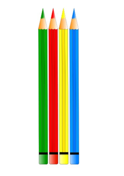 %name nice colored pencils   Free Colored Pencils Clip Art