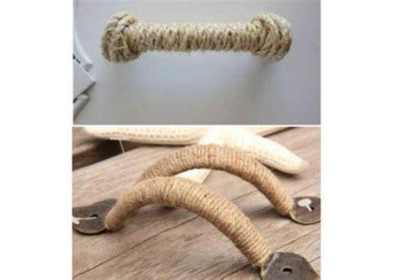 maniglie particolari per mobili decorare con le corde complementi d arredo originali