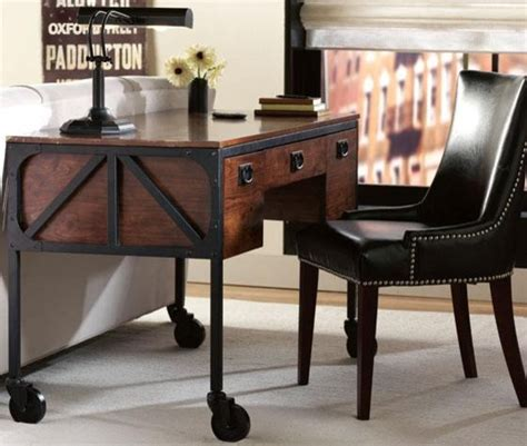 home decorators desks industrial empire desk eclectic desks and hutches by