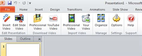 movie themes for powerpoint 2010 easy to insert video backgrounds in powerpoint